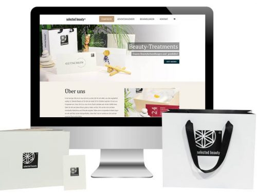 Selected Beauty – Corporate Design