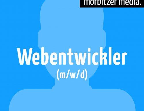 Webentwickler m/w/d