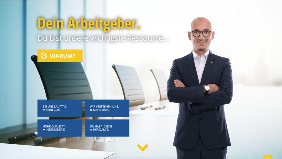Referenz morbitzer media Wähler-Webseite UX-Design 4
